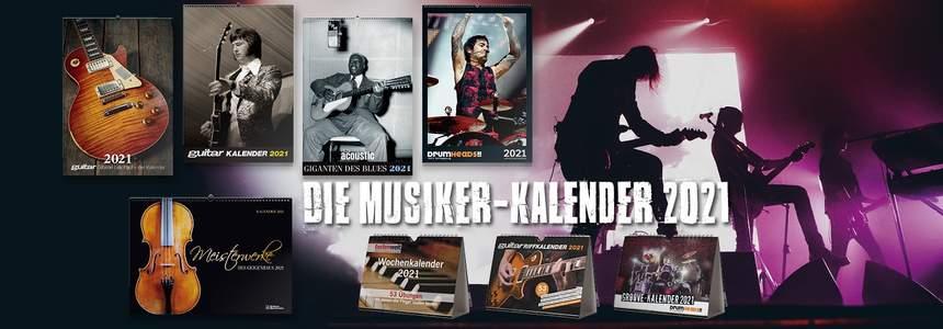 Musiker Kalender 2021
