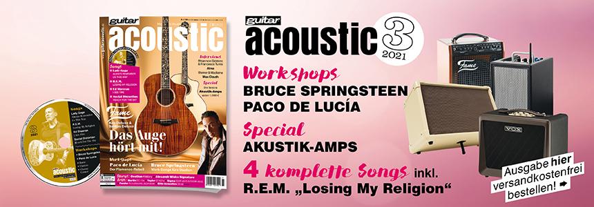 guitar acoustic Ausgabe 3/2021