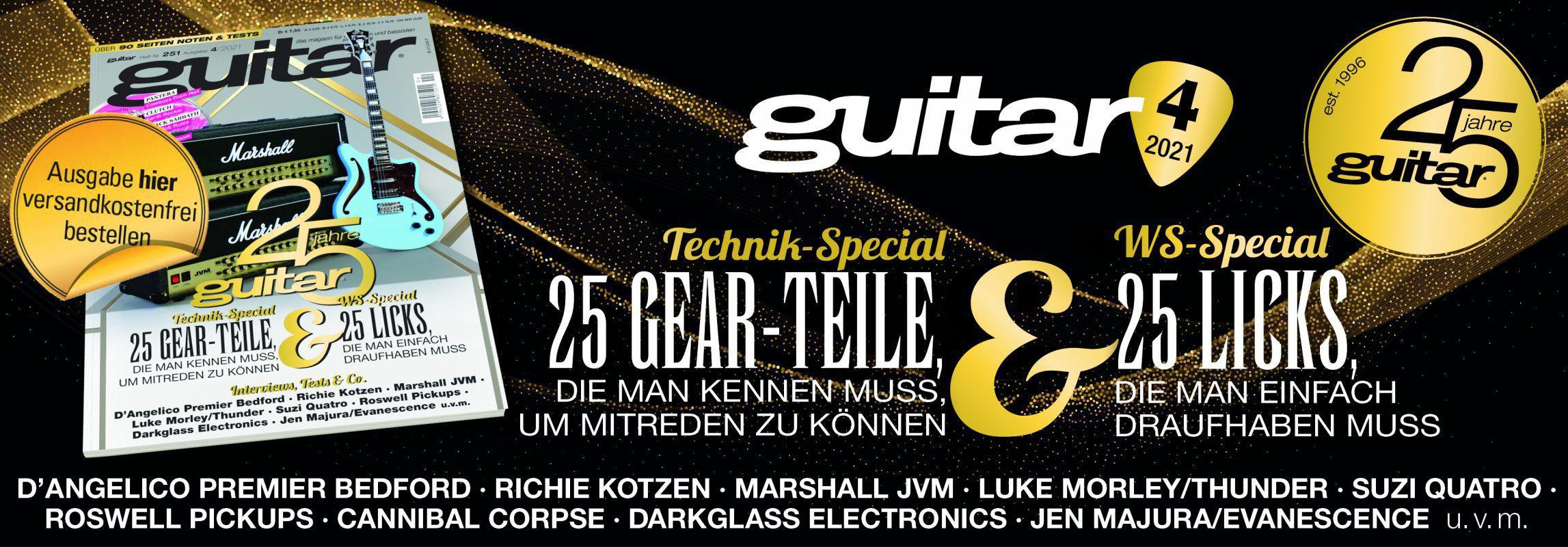 guitar Magazin Ausgabe 4/2021