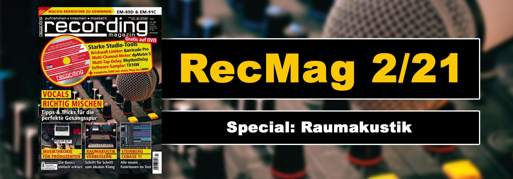 Recording Magazin Ausgabe 2/21