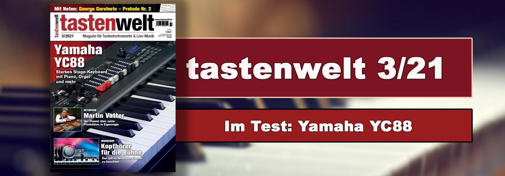tastenwelt Ausgabe 1/21